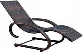 Cadeira Espreguiçadeira Mor Naturalle com Balanço, Alumínio e Junco