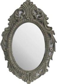 Espelho Decorativo com Moldura em Pintura Envelhecida - 48x5x33cm
