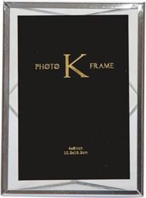 Porta-Retrato K Prateado Small