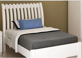 Cama de Solteiro Iii 0,90 Branca Móveis Fazzio Branca