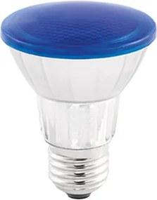 lâmpada PAR20 led 7w azul IP65 externo Stella STH6090/AZ
