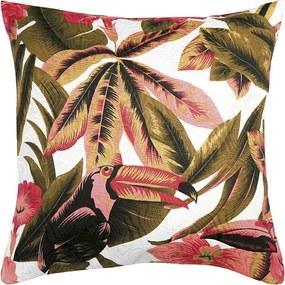Capa para Almofada Jacquard Estampada de 40 x 40 cm X