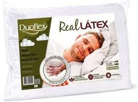 Travesseiro LS1100 Real Látex Alto Duoflex