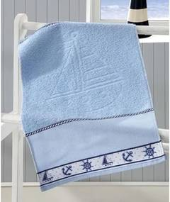 Toalha De Mao Dohler -Jacquard Baby Nautico Azul