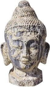 Cabeça Buda Vietnam Cerâmica Importado Atlantis 75 cm