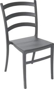 Cadeira Nadia sem Braço Grafite Summa - Tramontina