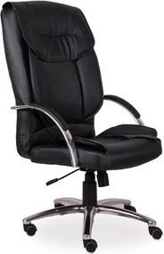 Cadeira de Escritório, Pé aranha, Corino Preto, Midhas