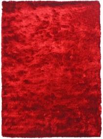 Tapete Shaggy Peludo Vermelho Fio de Seda - 2,00 x 1,40m