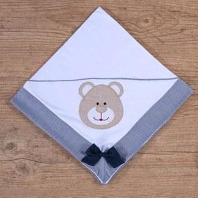 Manta de Bebê Urso Baby Marinho