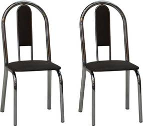 Kit 2 Cadeiras CV 2026 CR - Villarte Móveis
