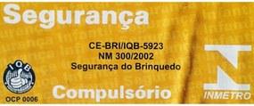 Blocos de Encaixe Xalingo Cidade em Obras Escavadeira 151 peças Amarelo