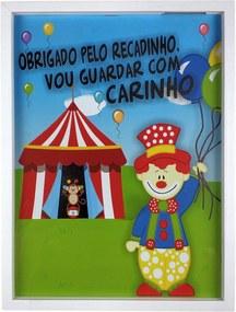 Quadro Porta Recado Mensagens de Recordação de  Aniversário 30x40 cm - Art Frame