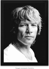 Poster Jon Bon Jovi (50x75cm, Apenas Impressão)