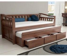 Bicama Safira 3 Gavetas Madeira Maciça Bedroom -