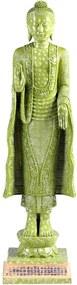 Estatueta Buddha - Verde