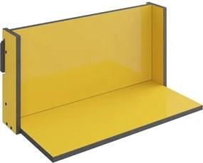 Prateleira de Parede Decorativa Mov 1006 Amarelo - BE Mobiliário