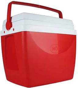Caixa Térmica 34 Litros Vermelha