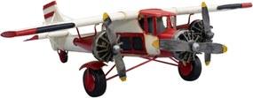 Enfeite Decorativo Minas de Presentes Avião Branco