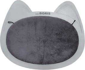 Arranhador de Parede para Gatos B100 Cinza - Sheep Estofados - Cinza claro