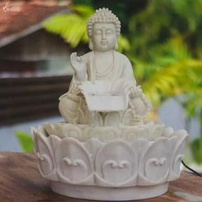 Fonte de Água Cascata Buda 27cm
