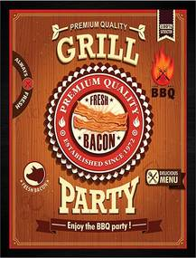 Quadro Grill Bacon Party
