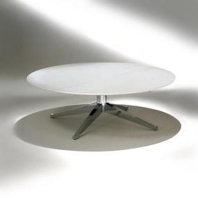 Mesa de Centro FK2 Estrutura Aço Carbono Cromado Studio Mais Design by Florence Knoll