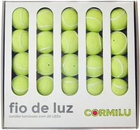 Luminária Decorativa Tênis - Pilha Cormilu Amarelo