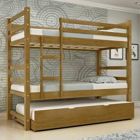 Treliche Ágata Madeira Maciça Bedroom - Castanho