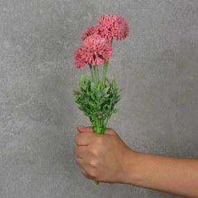 Flor Artificial Mini Dália Rosa