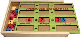 Jogo CARIMBRÁS Operações Matemáticas Multicolorido