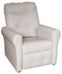 Poltrona do papai reclinável Clio -  Bege corino