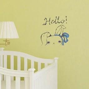 Adesivo Decorativo Hello Coelho Medidas 0,59X0,61 Metros (Olá!)