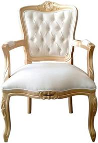 Poltrona Luis XV Impermeável - Wood Prime 12431 Liso