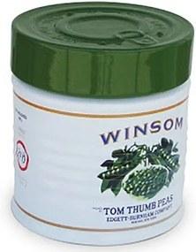 Pote Lata com Tampa Verde 700 ml