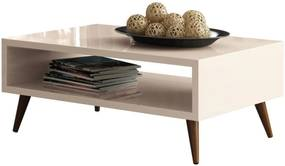 Mesa De Centro Decorativa Lyam Decor Lara Off White