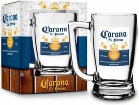 Caneca vidro 340ml sÁtiras cervejas - carona