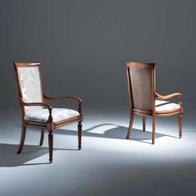 Cadeira com Braço Beirute Madeira Maciça Design Clássico Avi Móveis