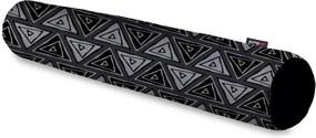 Rolo Decorativo Pump UP Estilo Triângulos Estilo Abstrato Geométrico Grande 128x12 cm
