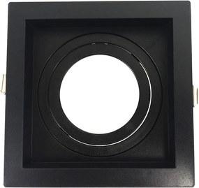 Embutido PAR20 Quadrado Recuado Direcional Preto E27 - Save Energy - SE-330.1044