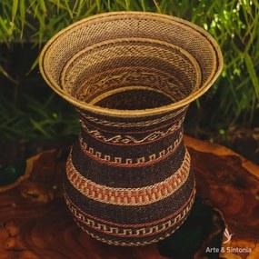 Cesto Ye'kuana Étnico | Arte Indígena