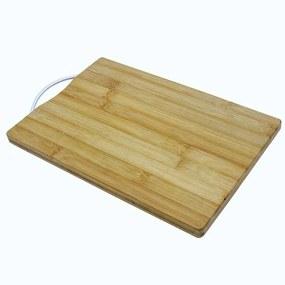 Tábua Gourmet em Bambu com Alça EcoKitchen - 36cm - Mimo