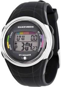 Relógio UV Master Black - Guepardo
