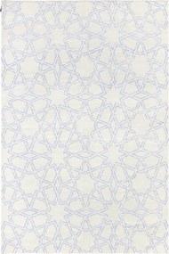 TAPETE DHURIE MOROCCAN 9 WHITE/PURPLE