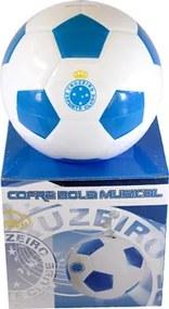 Cofre em formato de bola personalizado do cruzeiro