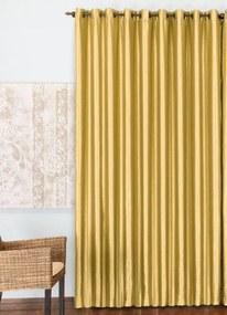 Cortina para Porta Rústica Ouro 390x250 cm