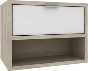 Gabinete para Banheiro sem Cuba Malta 60cm 09210.5966 Barrique/Branco - Móveis Bosi