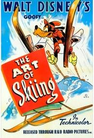 Quadro Poster Filme Pateta Ano 1941 46 X 32 Cm