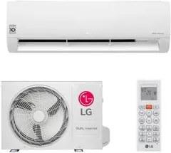 Ar Condicionado Split HW LG Dual Inverter 12.000 BTUs Só Frio 127V