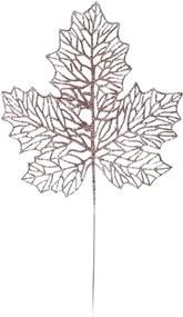 Folha Para Árvore Natal DecoraçÁo Natal 42Cm Rose