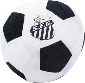 Almofada Minas de Presentes Bola Santos Branco